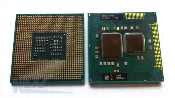 Процессор Intel Core i3-330M (SLBMD) б/у
