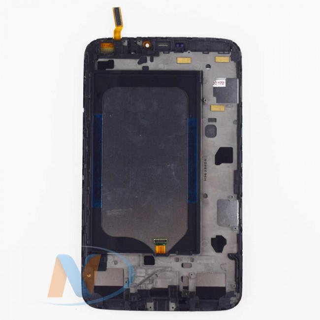 Купить Модуль (дисплей+тачскрин) С РАМКОЙ для планшетов Samsung SM-T311 черный Б/У
